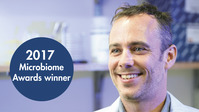2017 Microbiome Award Winner Dr. Michael Montague, 10/2017